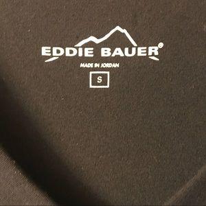 Eddie Bauer Dresses - Eddie Bauer Black Lily 3/4 Sleeve V-Neck Dress